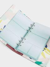 Floral Print Diary, Green, hi-res
