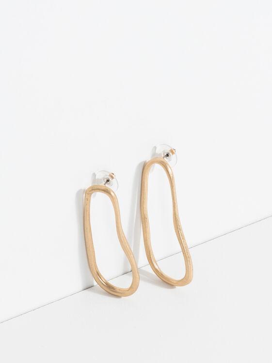 Boucles Oreilles Golden Basics