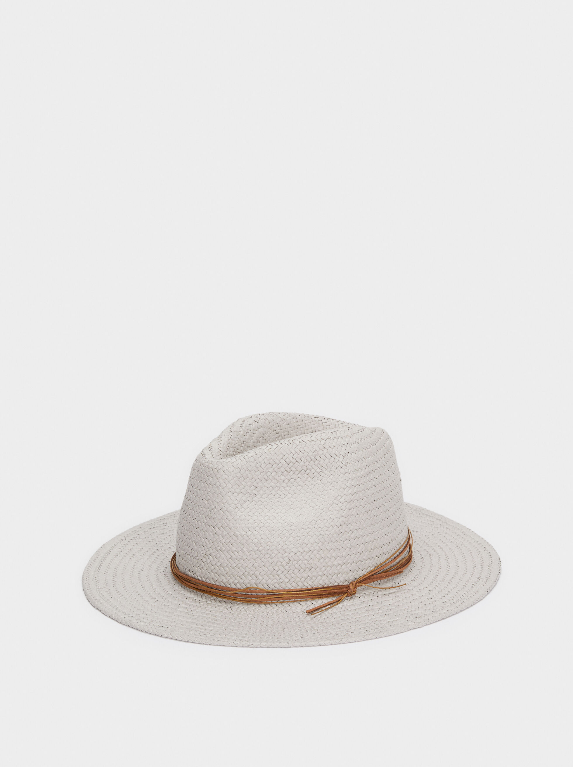 Textured Raffia Hat, , hi-res