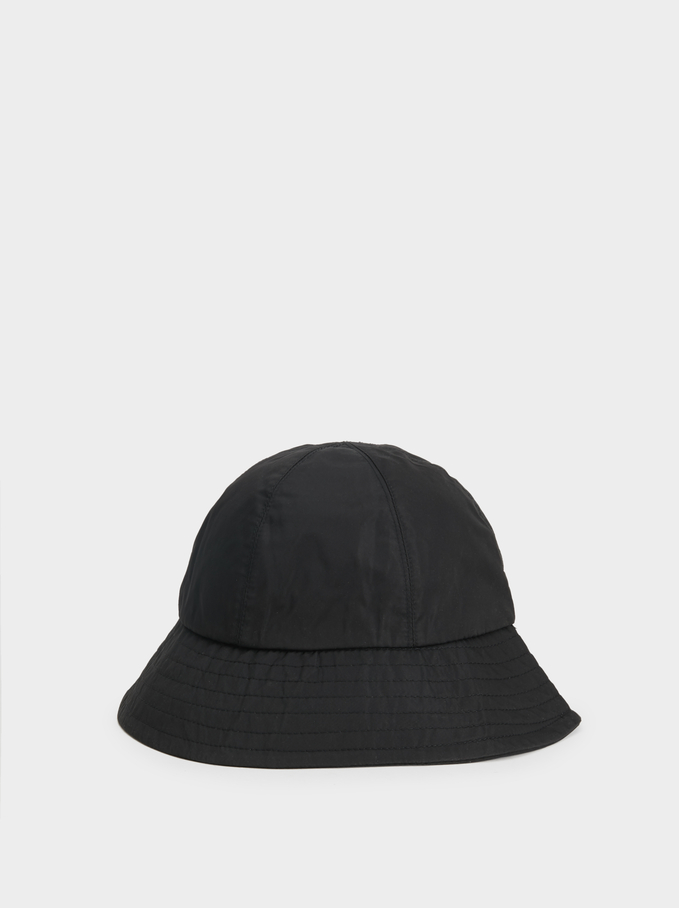 Waterproof Rain Hat , Black, hi-res