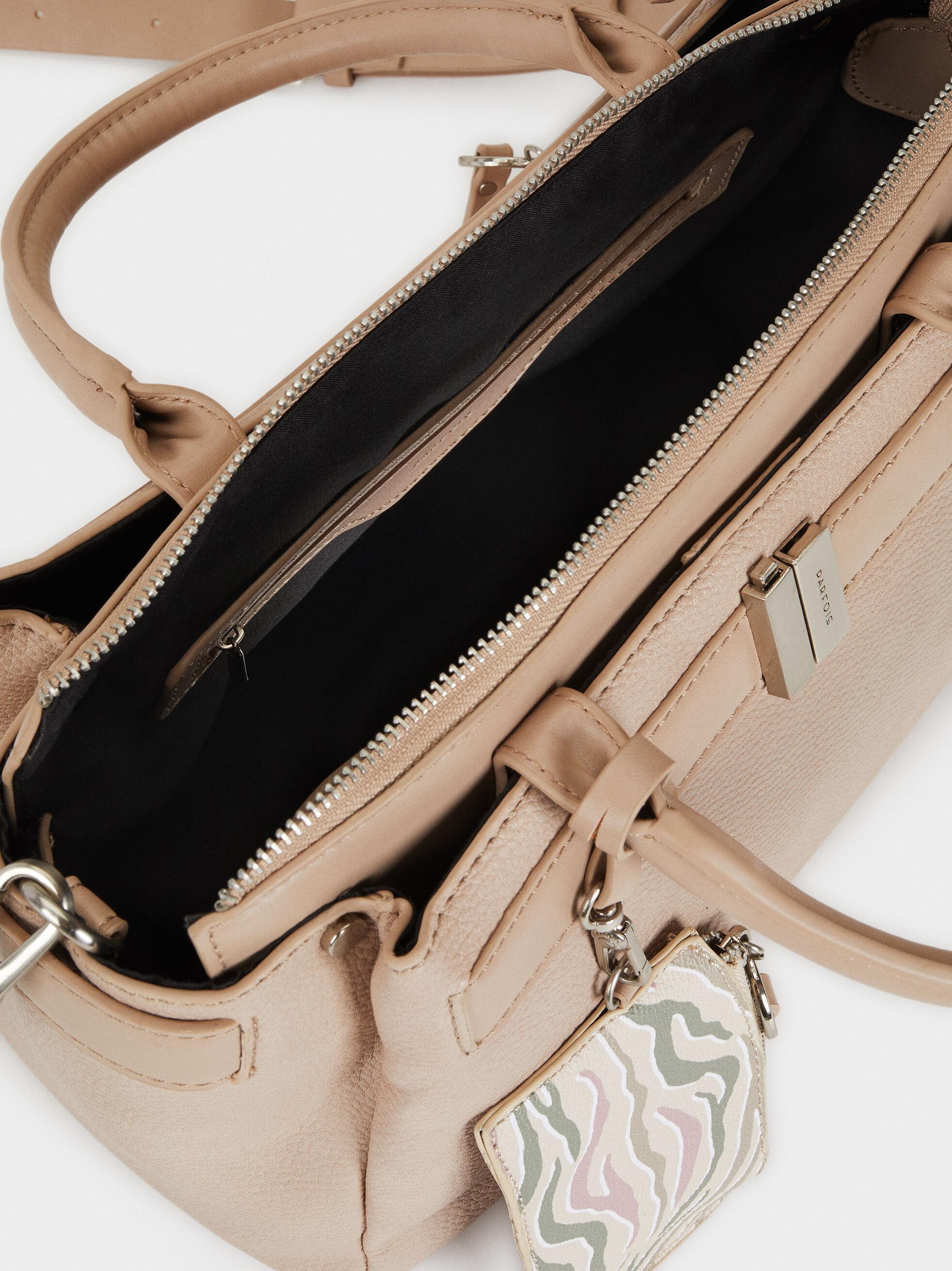 Briefcase With Mini Coin Purse, Ecru, hi-res