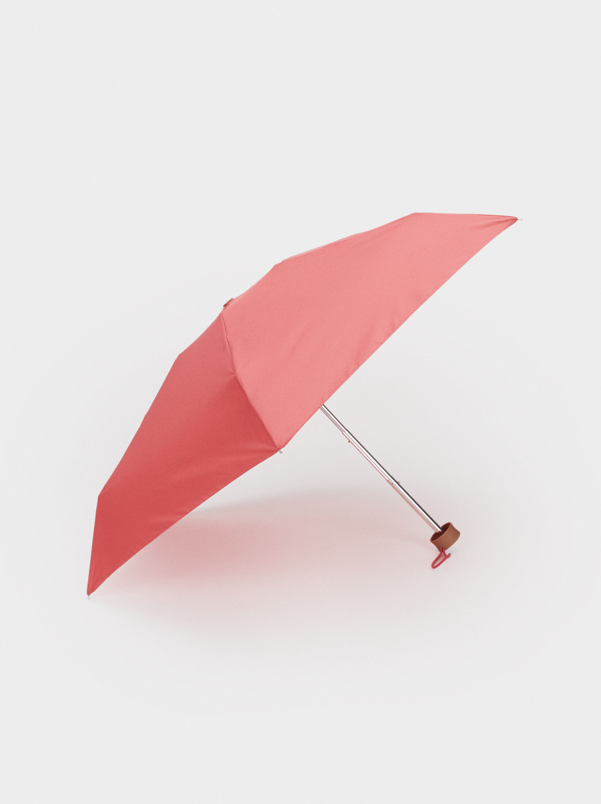 Small Folding Umbrella, Pink, hi-res