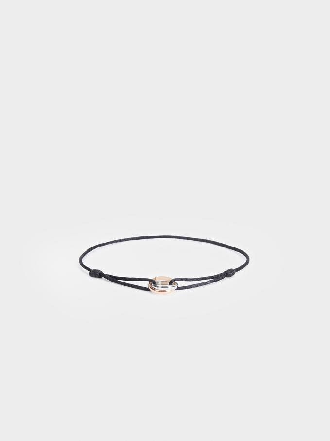 Adjustable Steel Bracelet, Multicolor, hi-res
