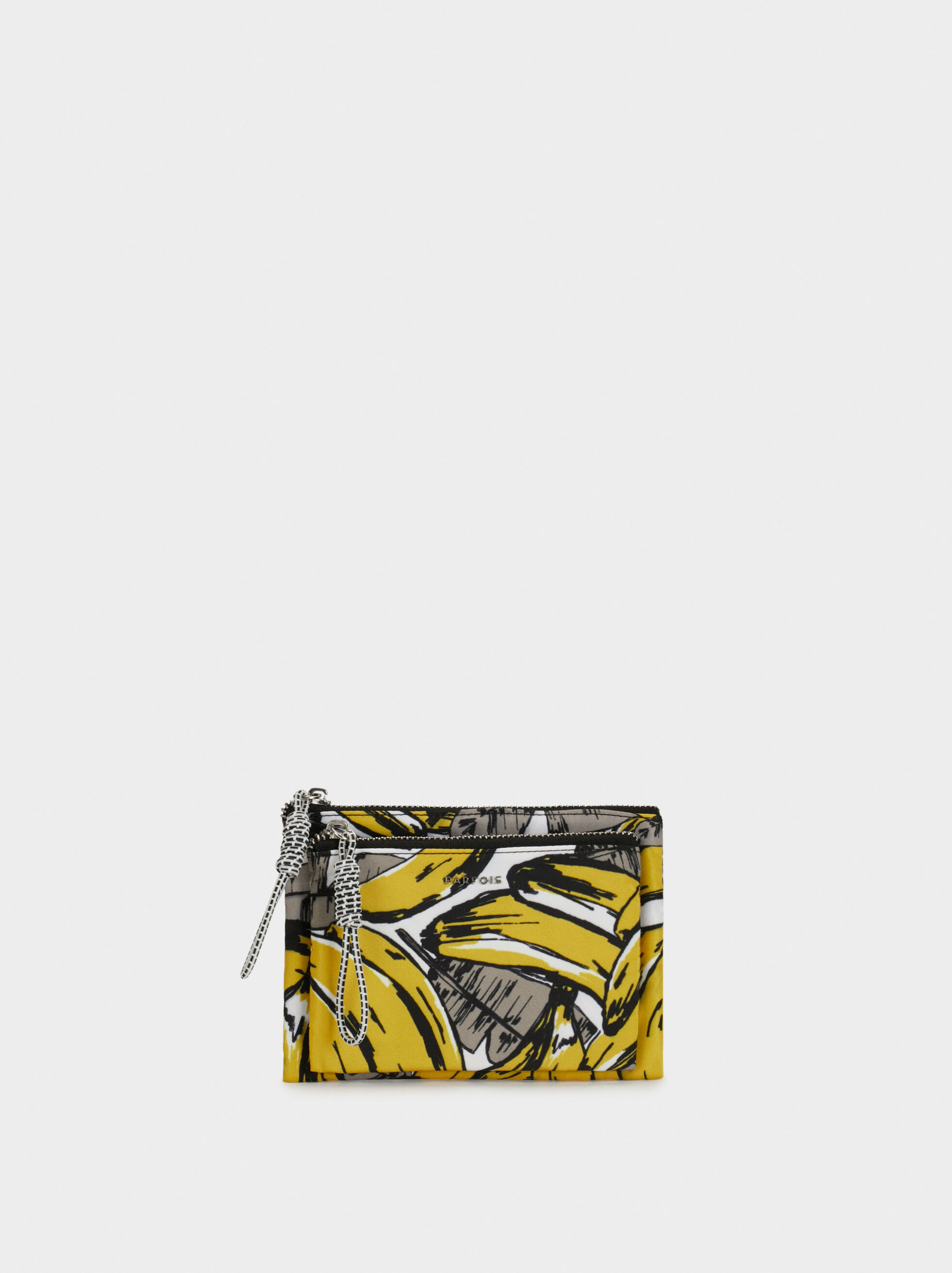 Nylon Multipurpose Purse, Yellow, hi-res