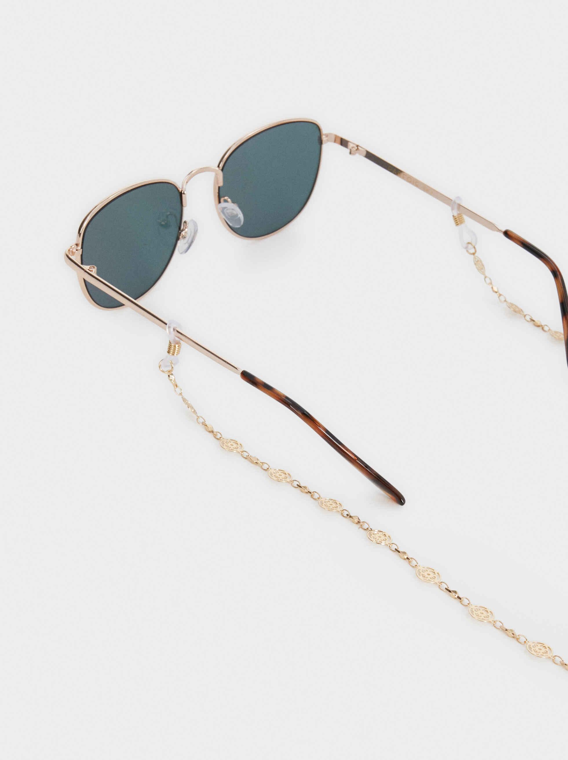 Cordón Para Gafas Medallas, Dorado, hi-res