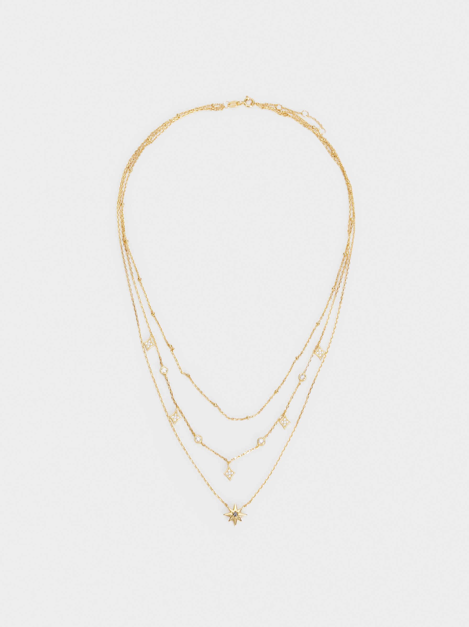 Set Of Silver 925 Necklaces, , hi-res