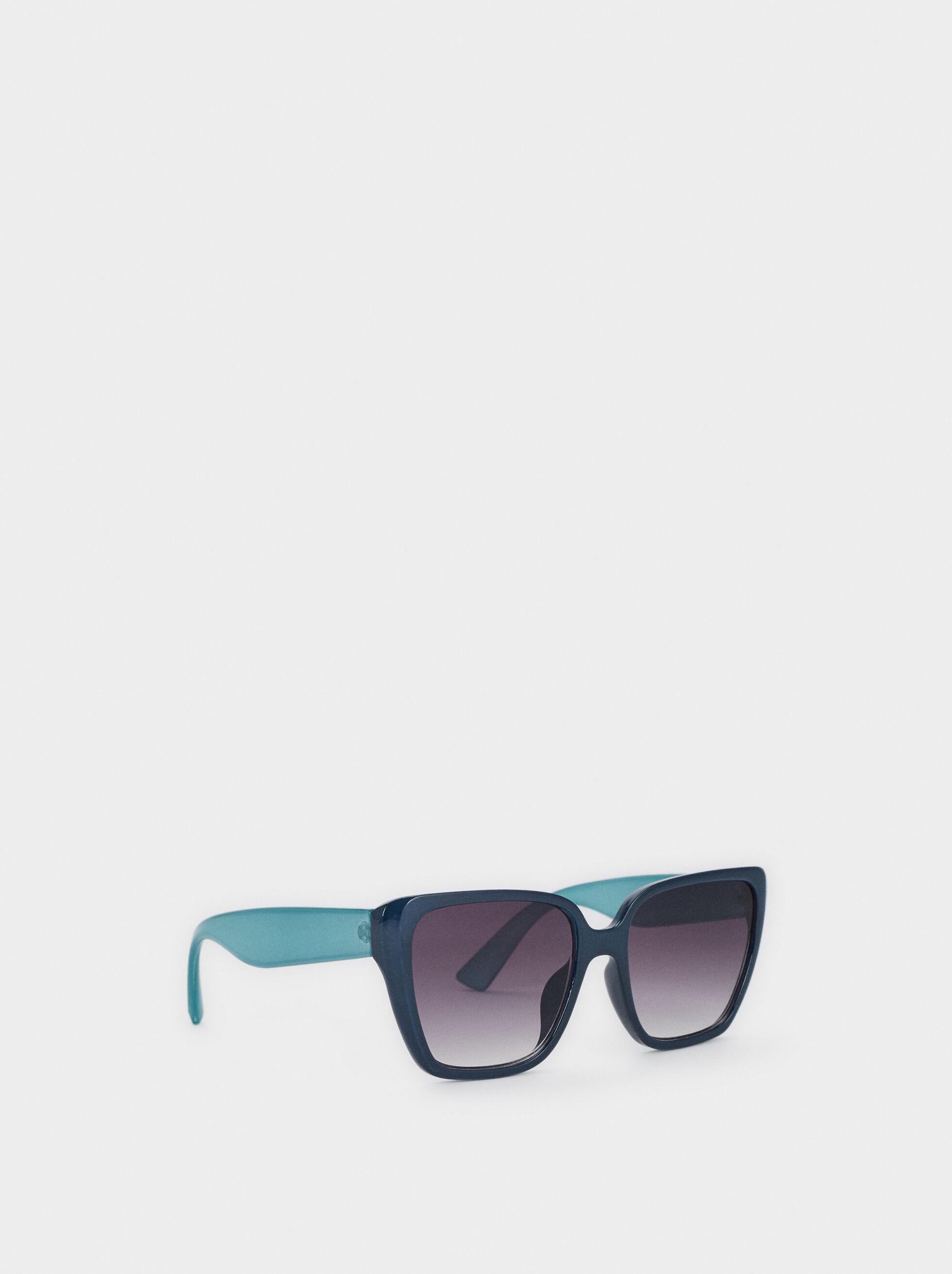 Resin Sunglasses, Blue, hi-res