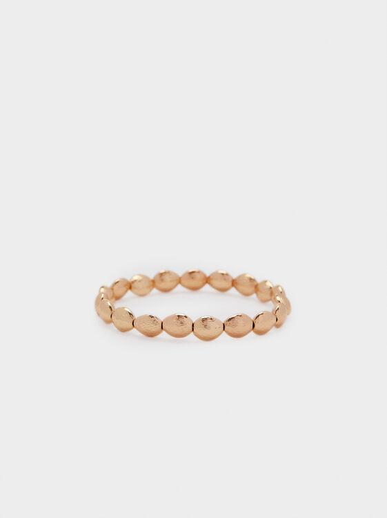 Basic Elastic Bracelet, Golden, hi-res