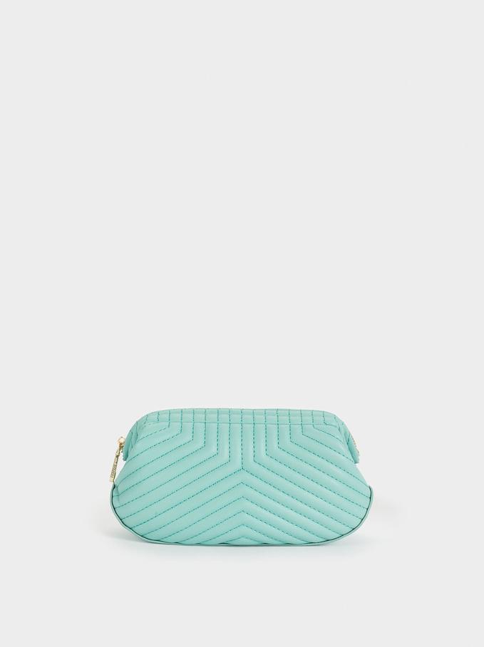 Quilted Multi-Purpose Bag, Blue, hi-res