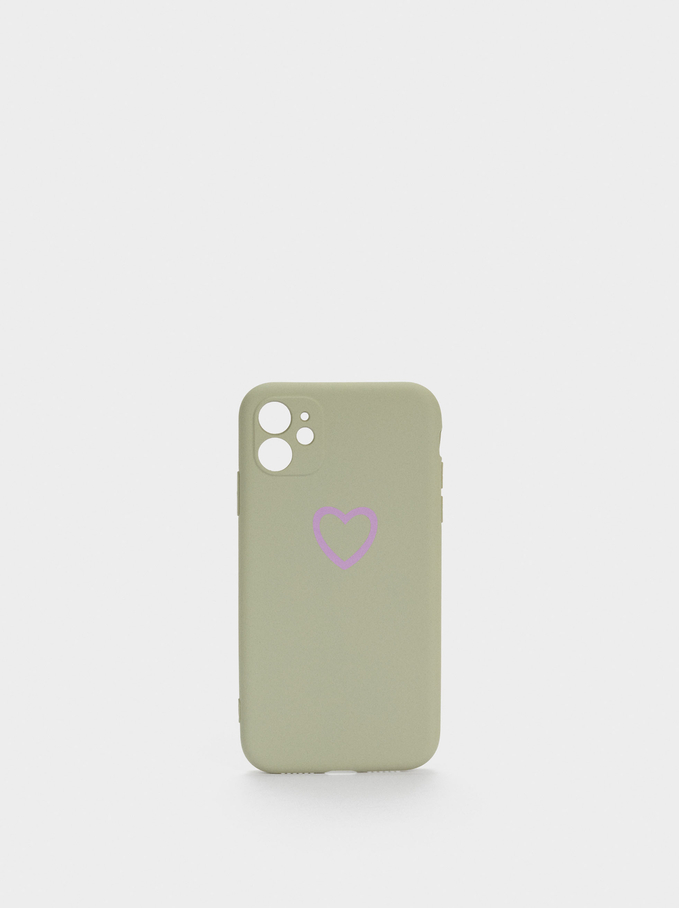 Iphone 12 Phone Case, Grey, hi-res