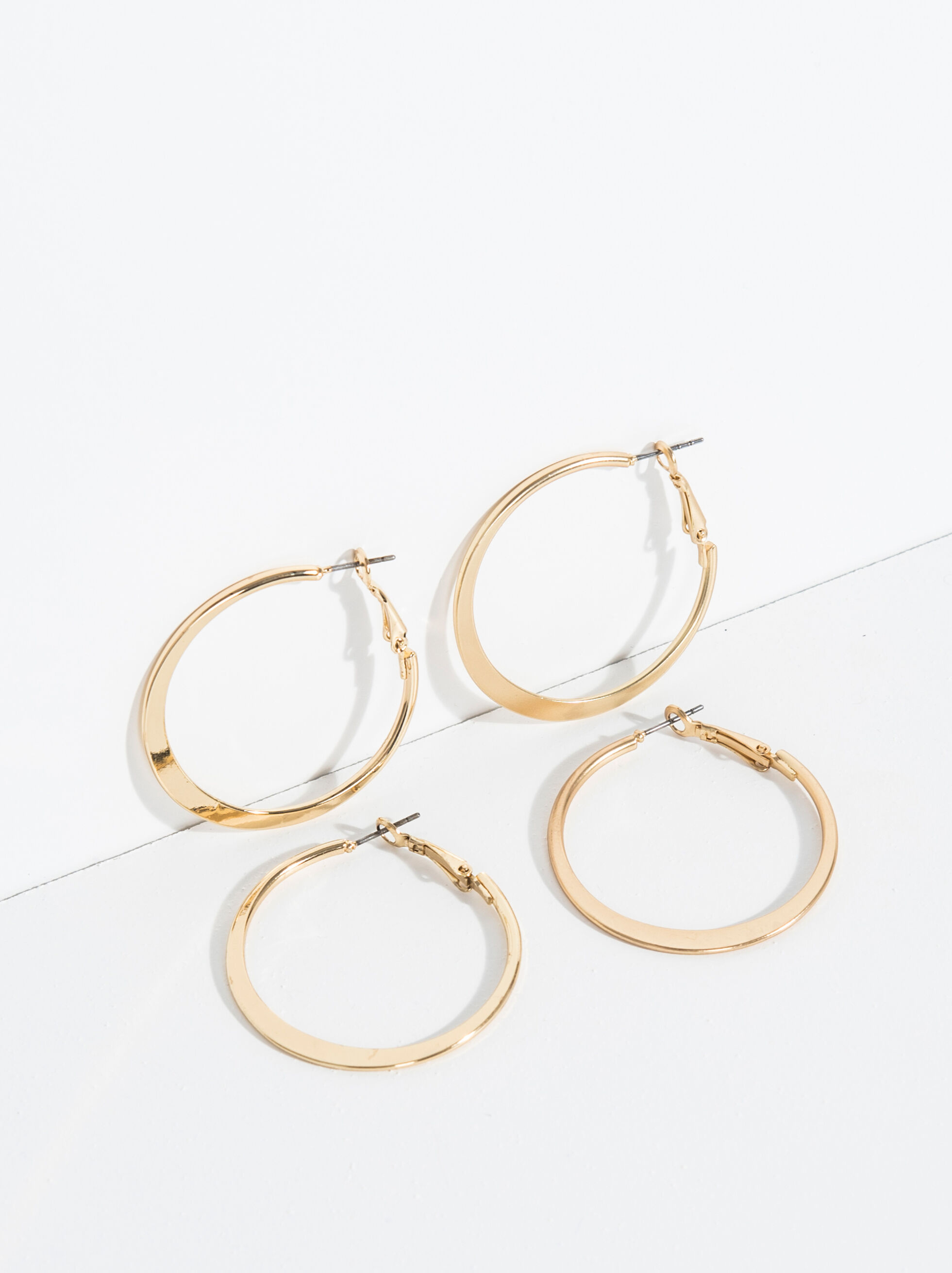 Basic Grandes Hoop-Earrings, , hi-res