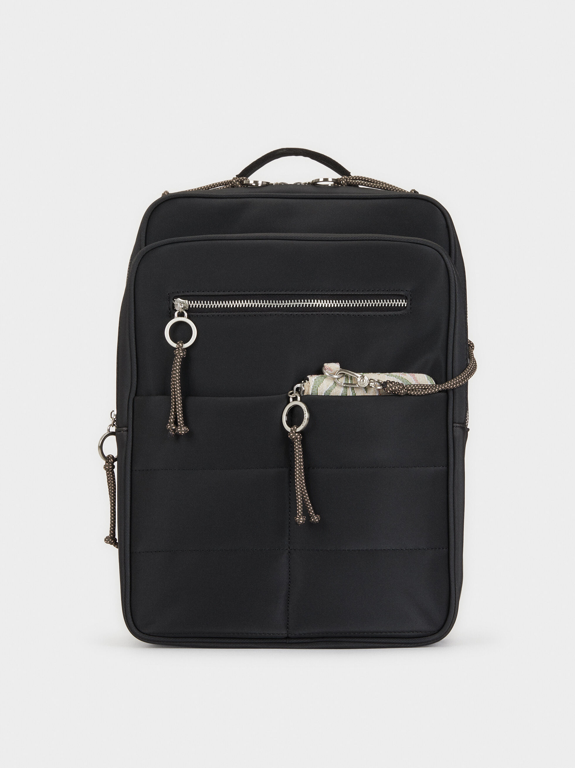 Backpack With Outer Pockets, , hi-res