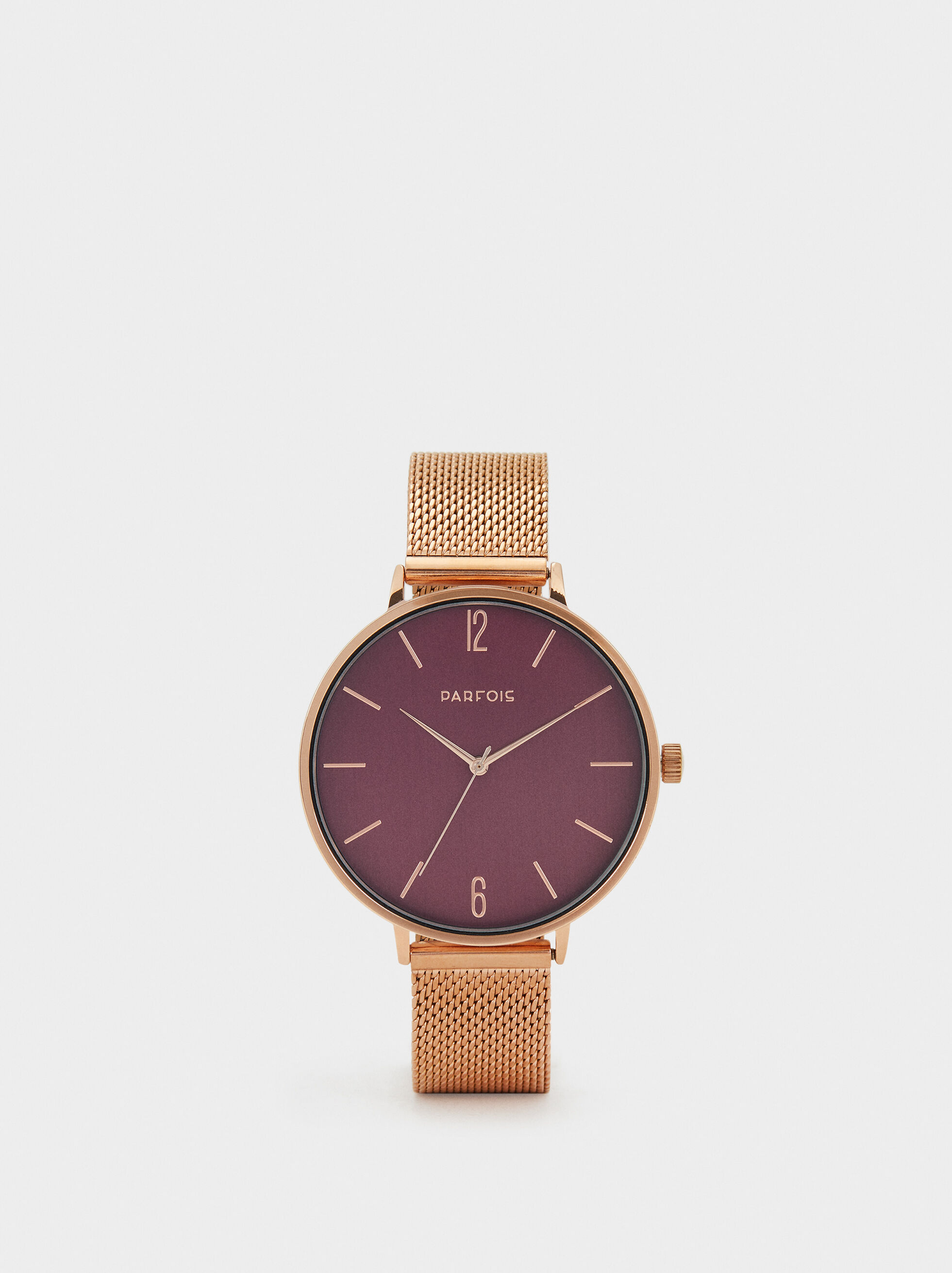 Watch With Mesh Strap, , hi-res