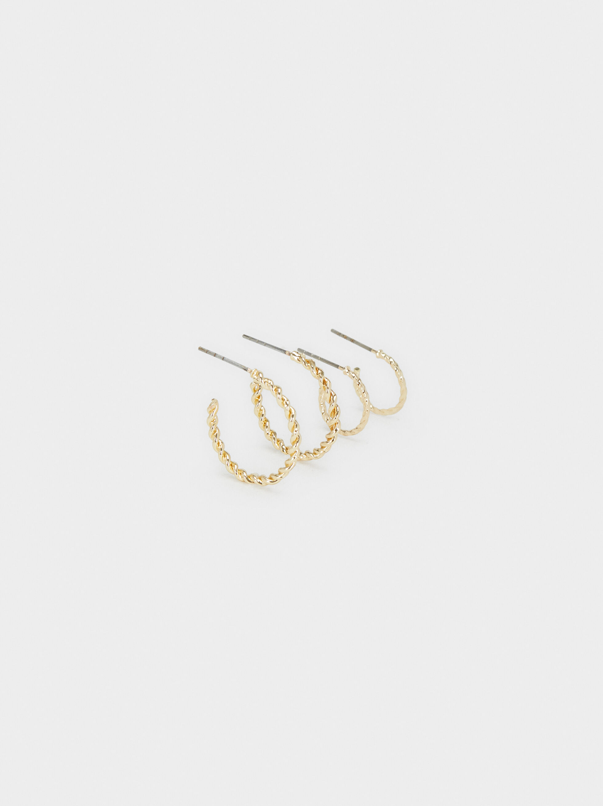 Hoop Fever Hoop Earrings Set, , hi-res