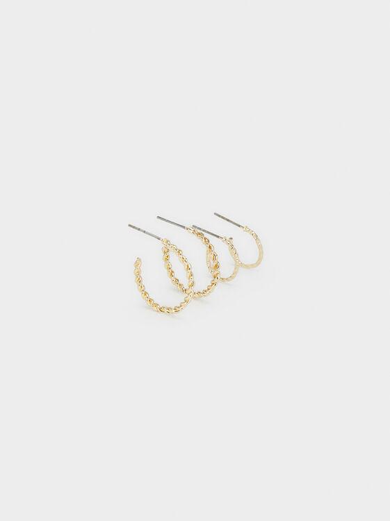 Hoop Fever Hoop Earrings Set, , hi-res