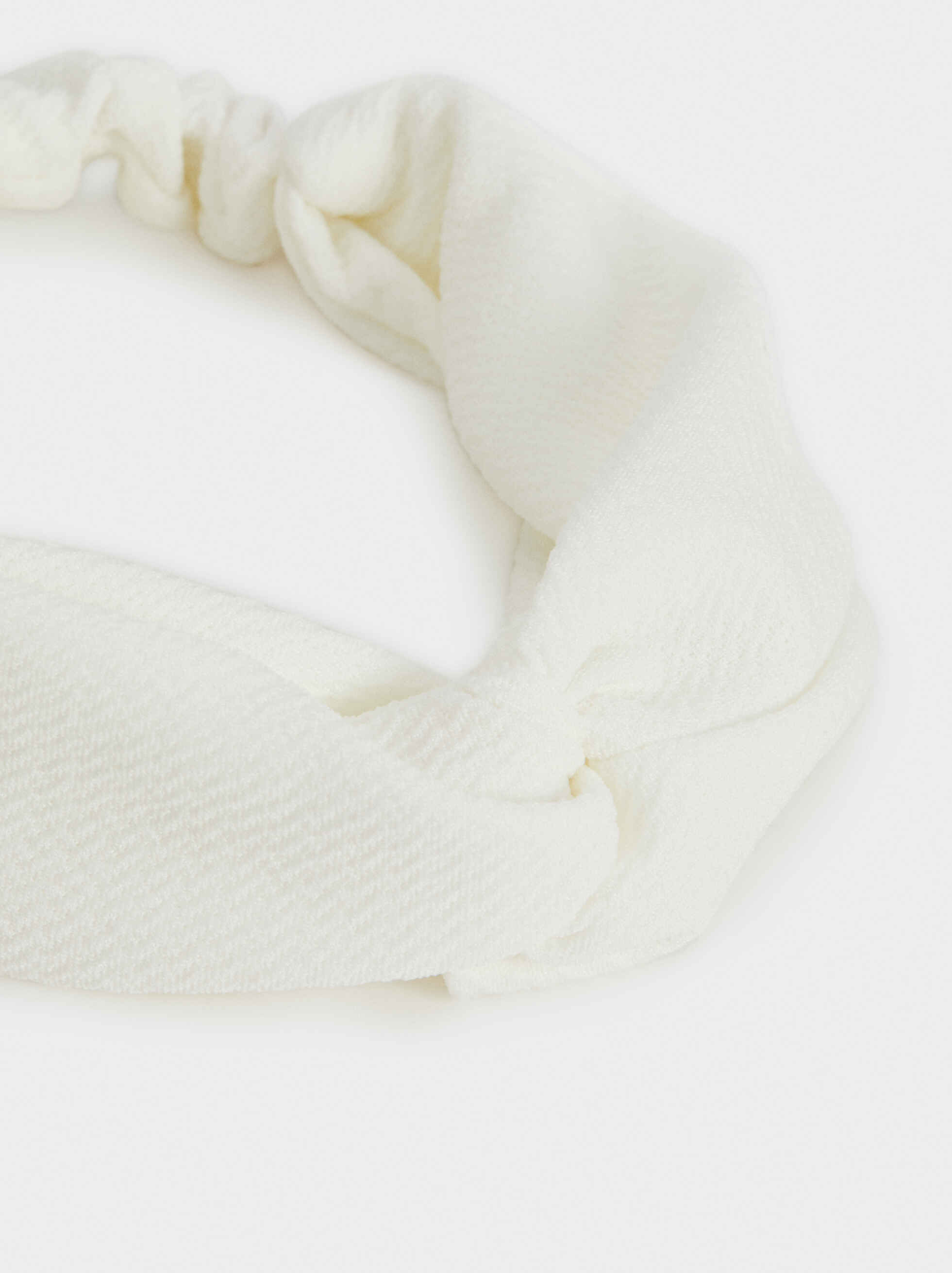 Basic Headband, White, hi-res