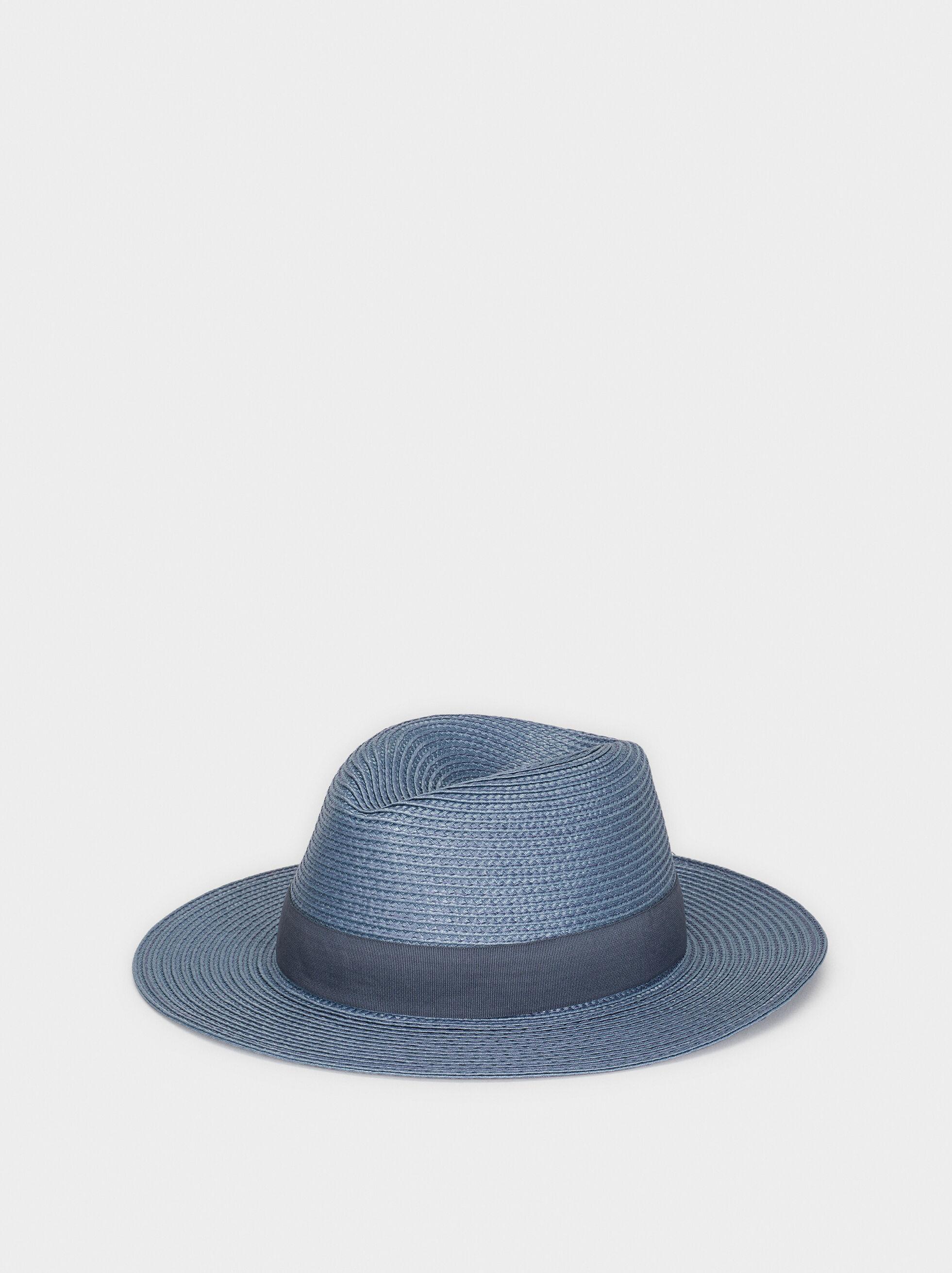 Raffia Texture Hat, , hi-res
