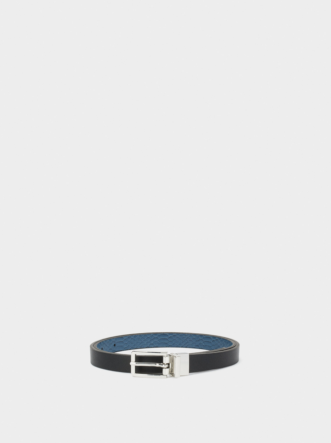 Reversible Belt, Black, hi-res