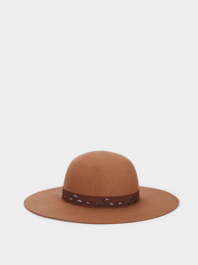 Chapéu Em Lã, Camel, hi-res