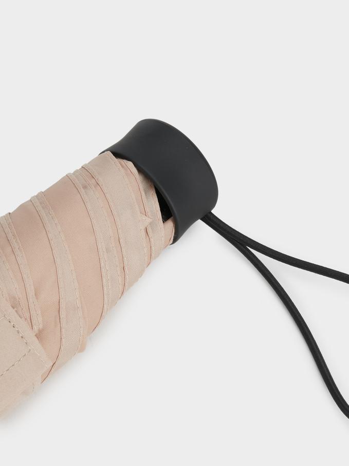 Basic Folding Umbrella, Beige, hi-res