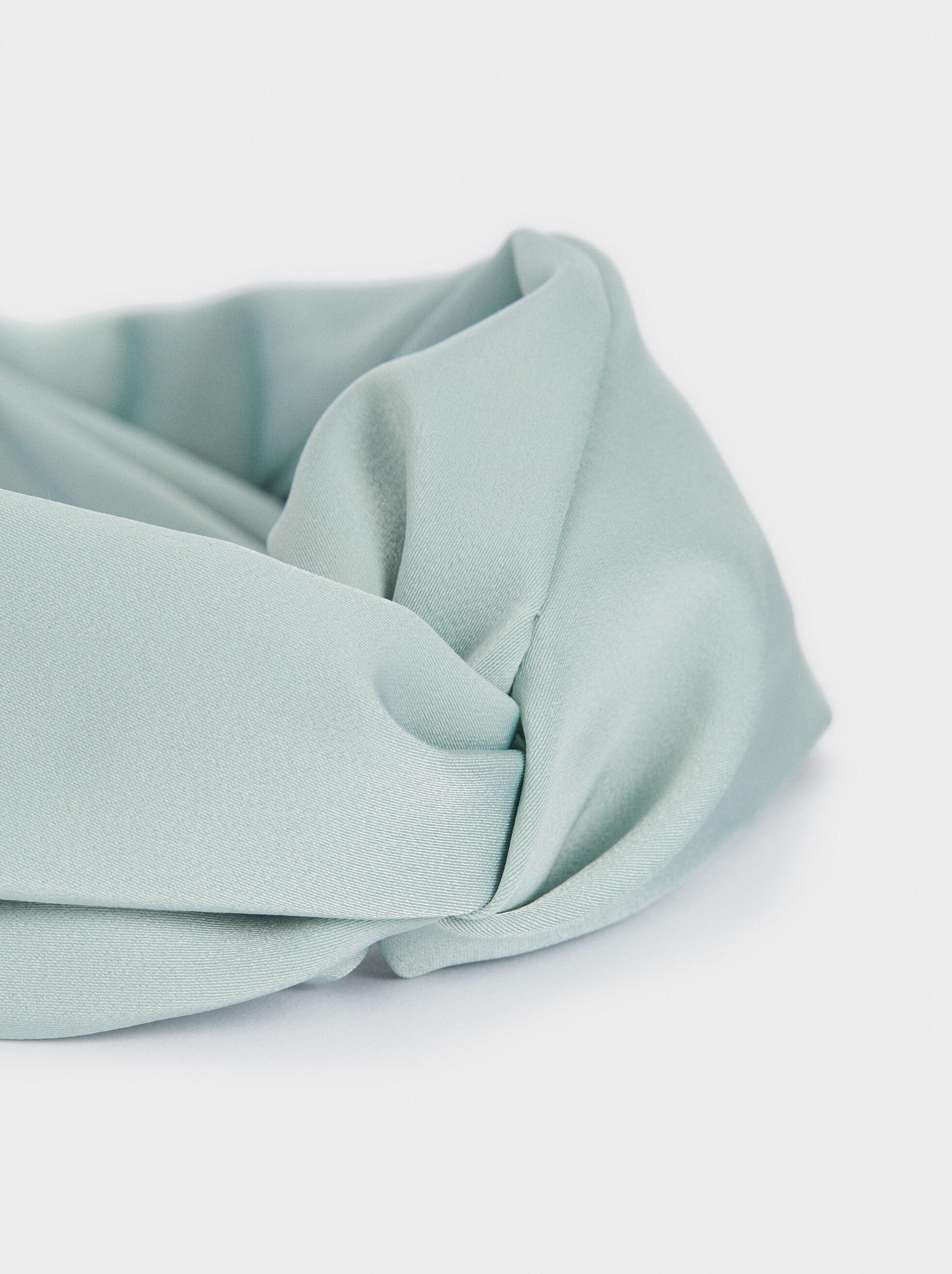 Diadème Turban À Imprimé Multicolore, Gris, hi-res