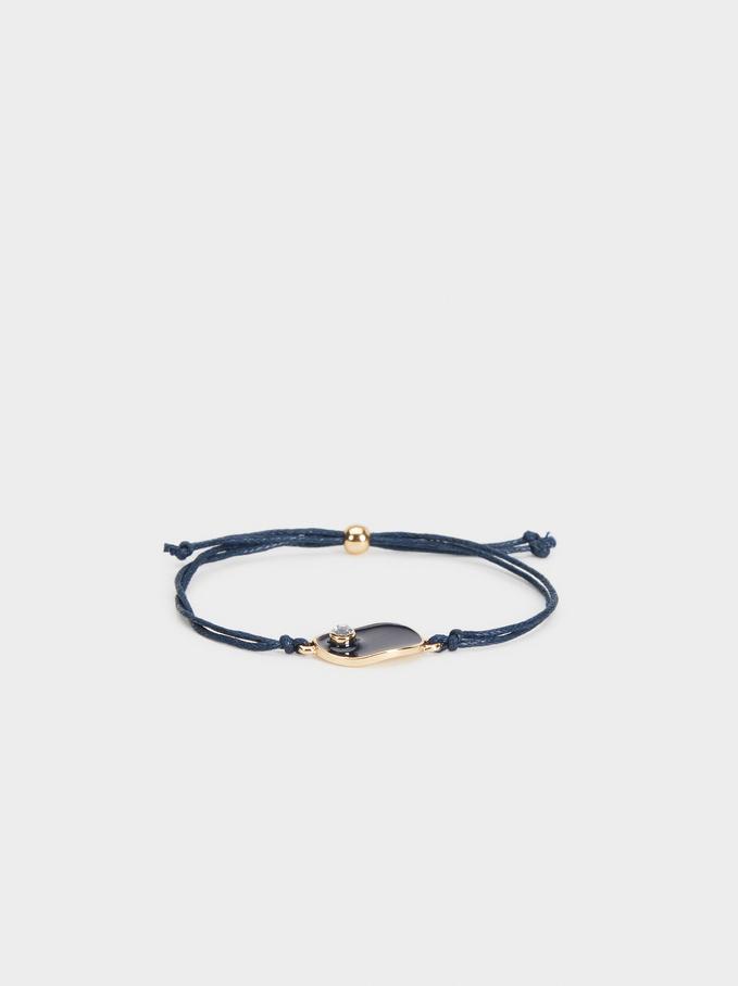 Savage Sparkle Adjustable Bracelet, Blue, hi-res
