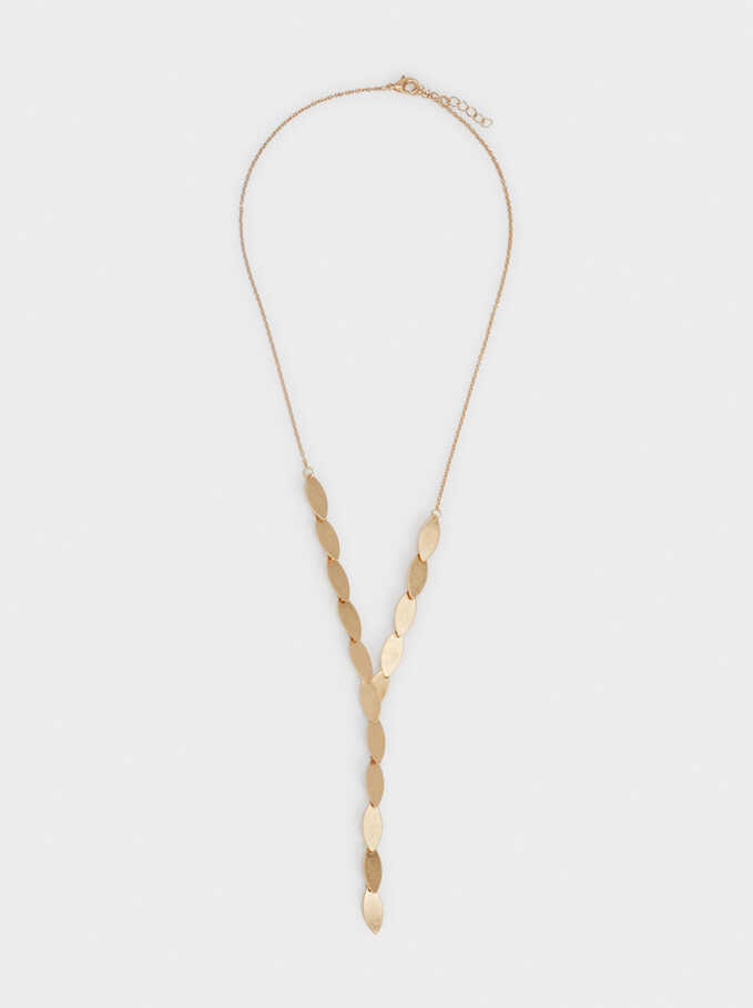 Golden Basics Necklace, Golden, hi-res