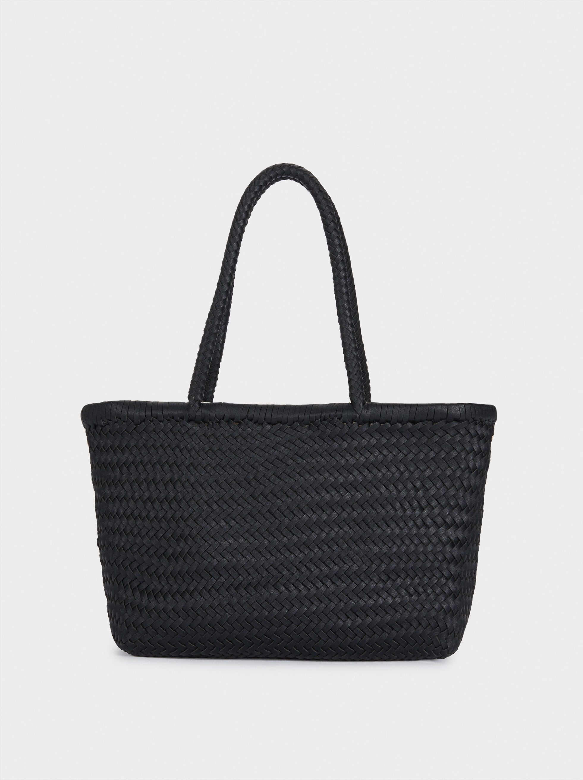 Hand Made Braided Tote Bag, , hi-res