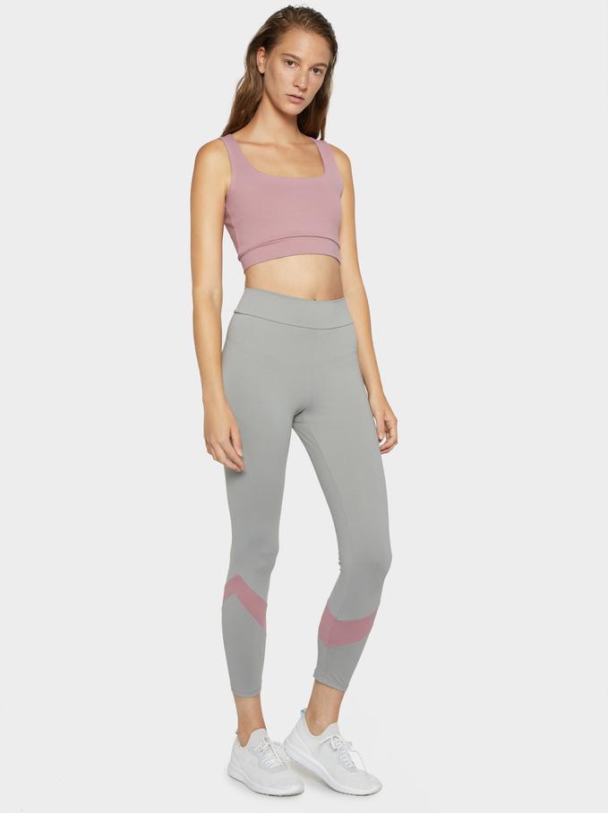 Limited Edition Sports Leggings, Grey, hi-res