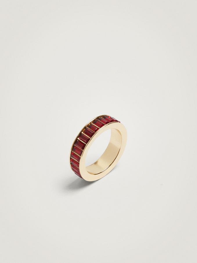 Combined Ring, Bordeaux, hi-res