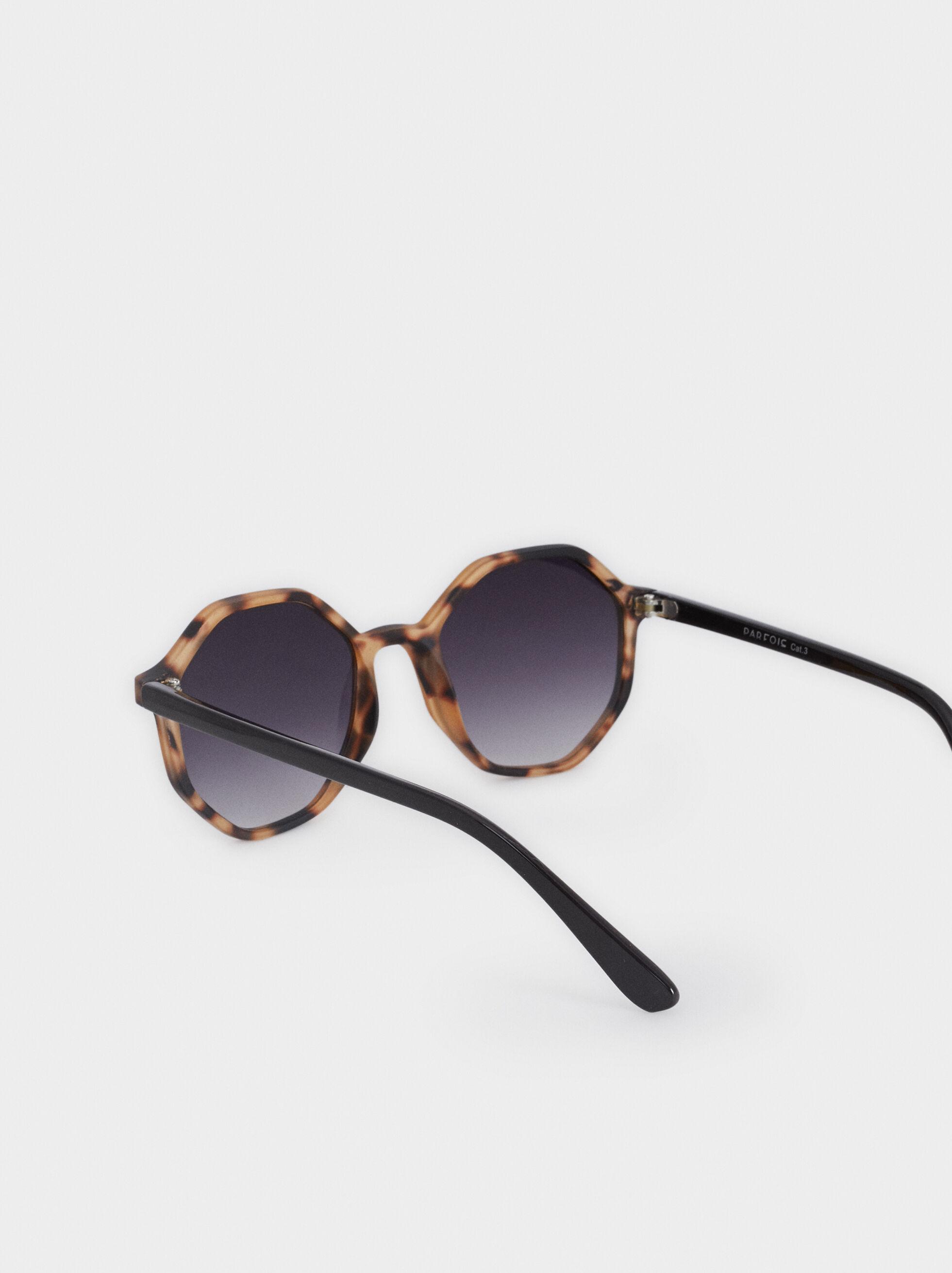 Tortoiseshell Sunglasses, Brown, hi-res
