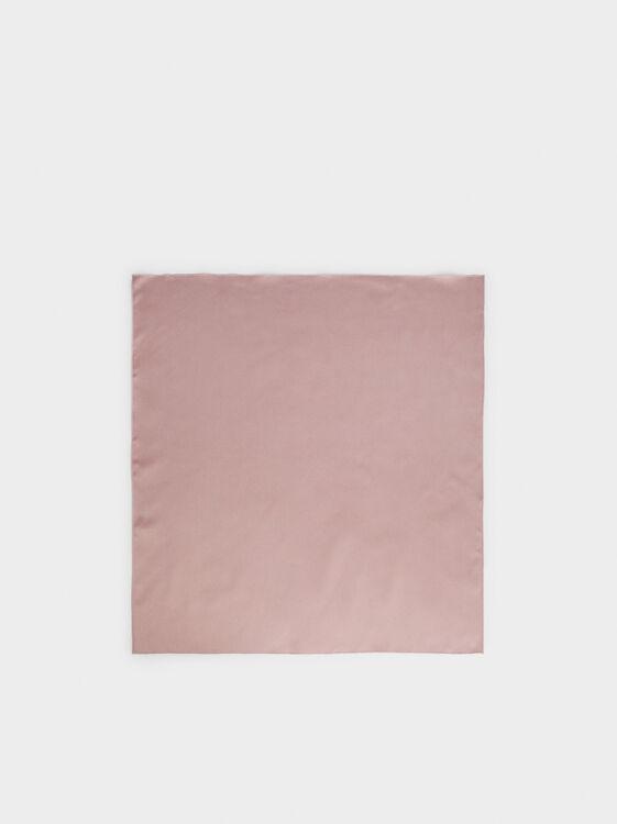 Plain Handkerchief Headband, Pink, hi-res