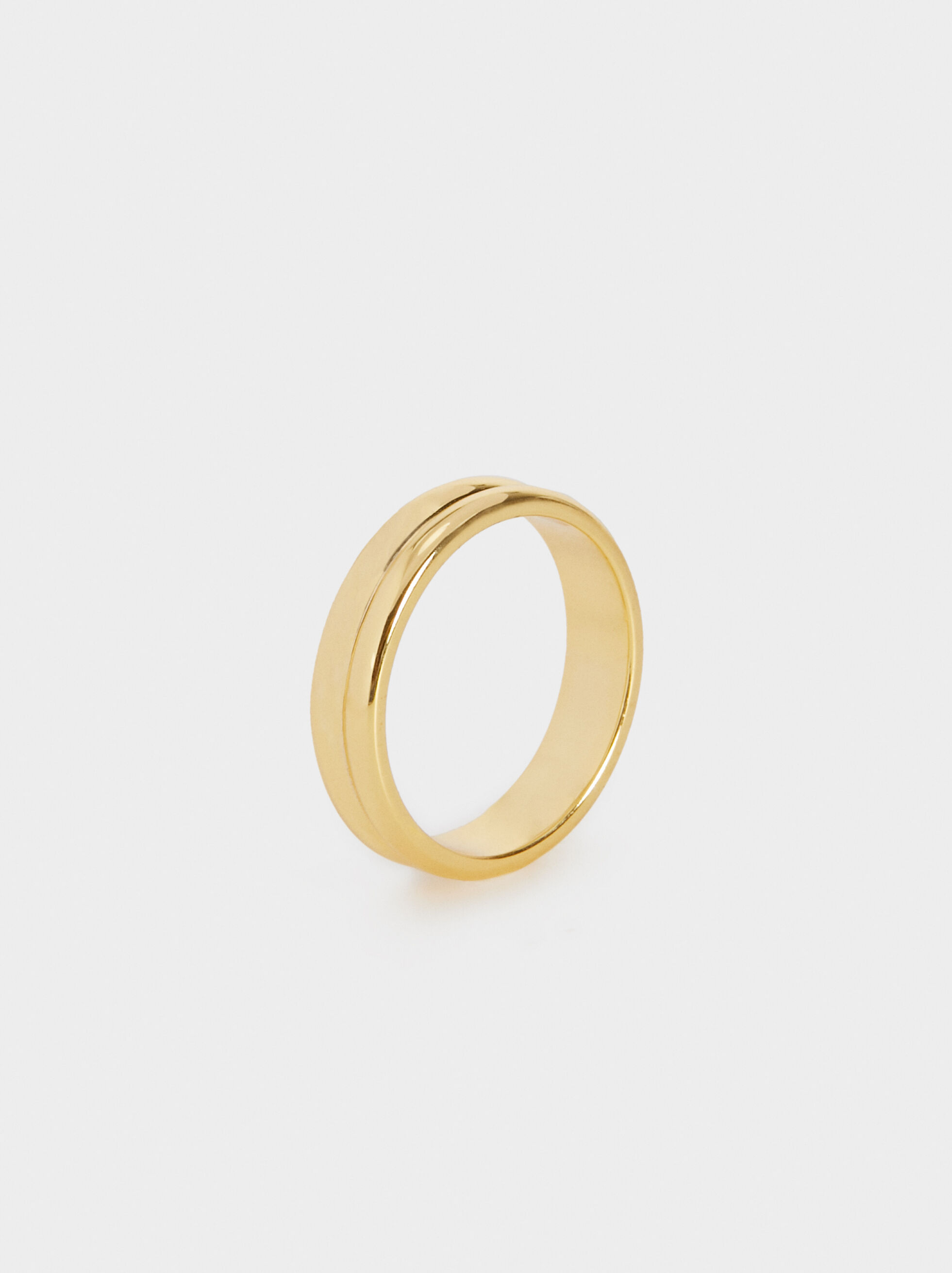 Plain 925 Silver Ring, , hi-res
