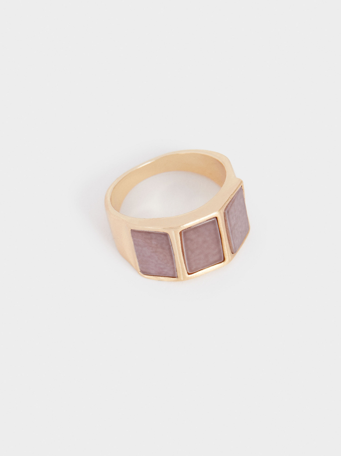 Ring With Stones, Multicolor, hi-res