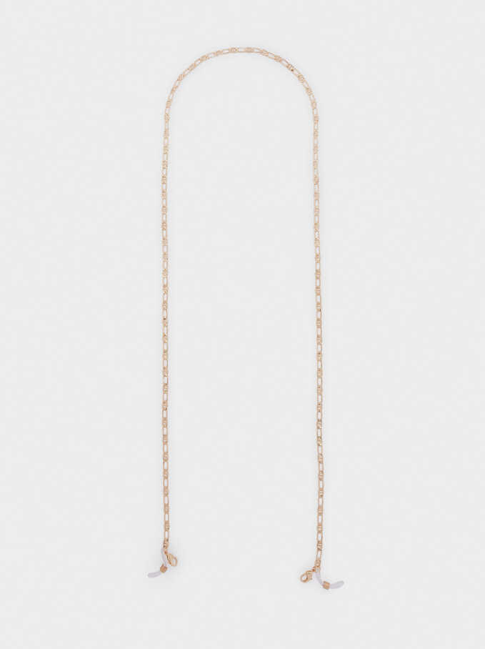 Chain For Sunglasses Or Mask, Golden, hi-res