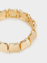 Basic Elastic Bracelet, Golden, hi-res