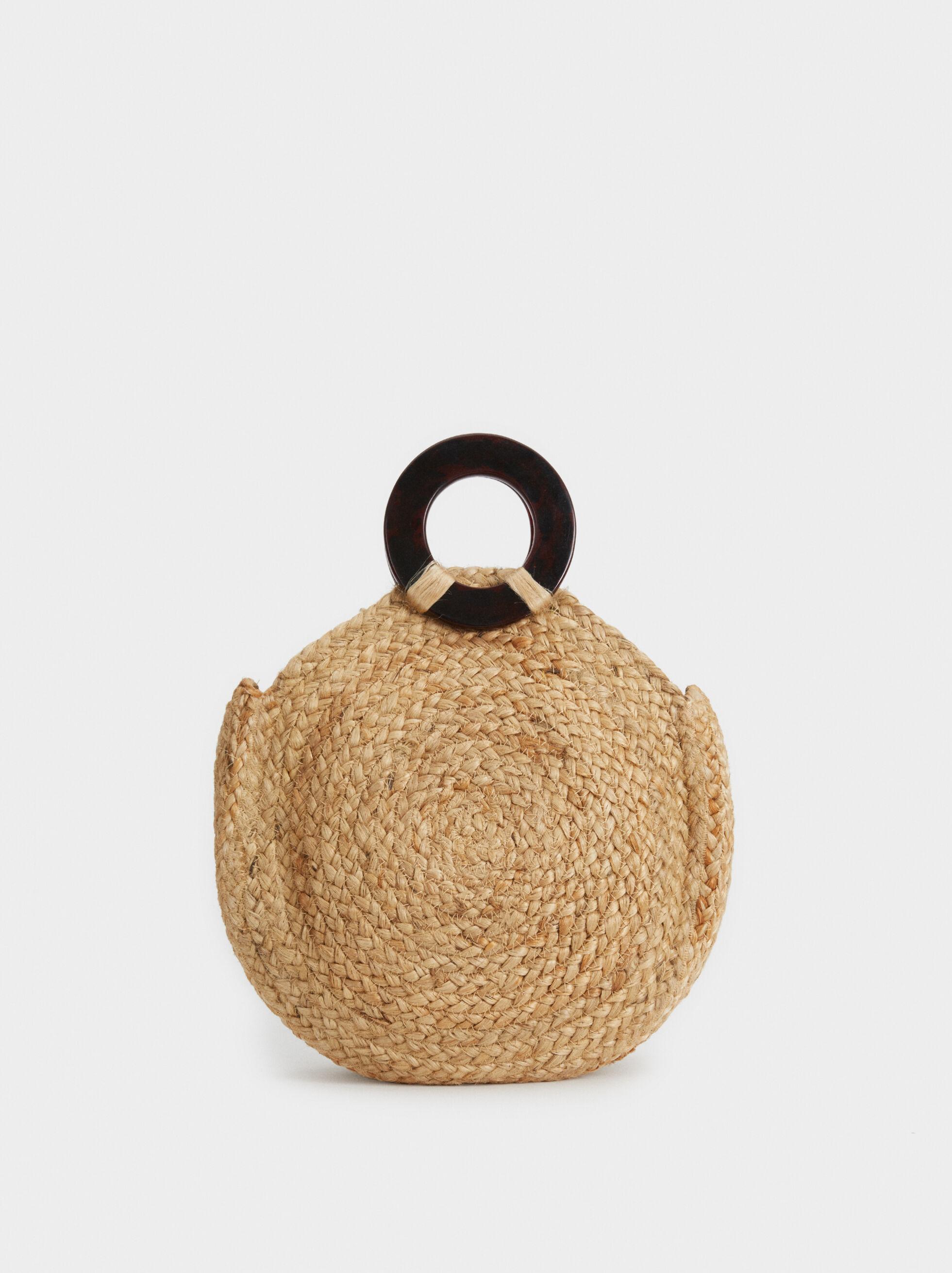 Straw Tote Bag , , hi-res