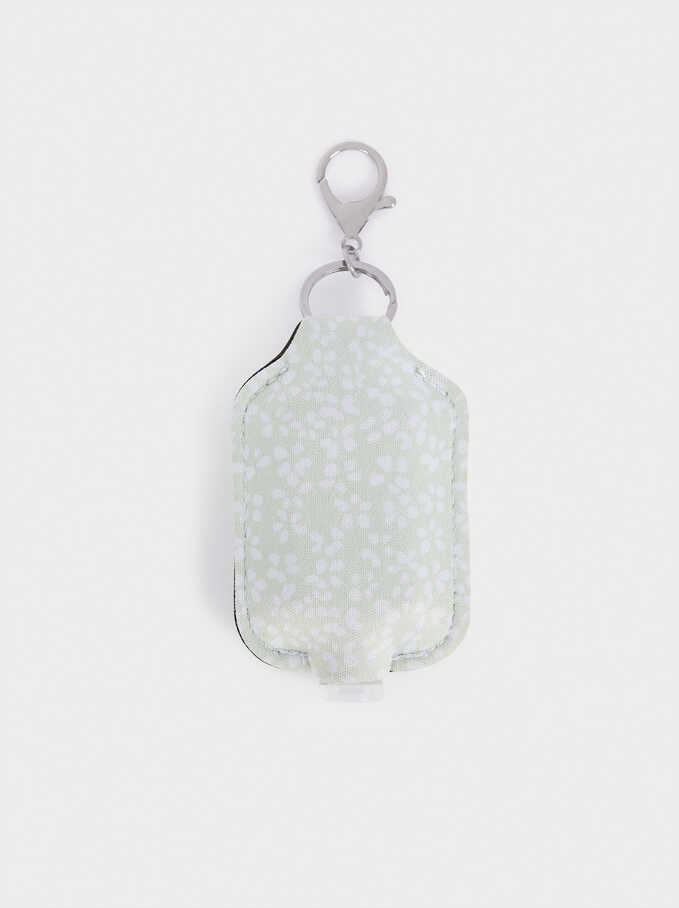 Hand Sanitizer Holder, Green, hi-res