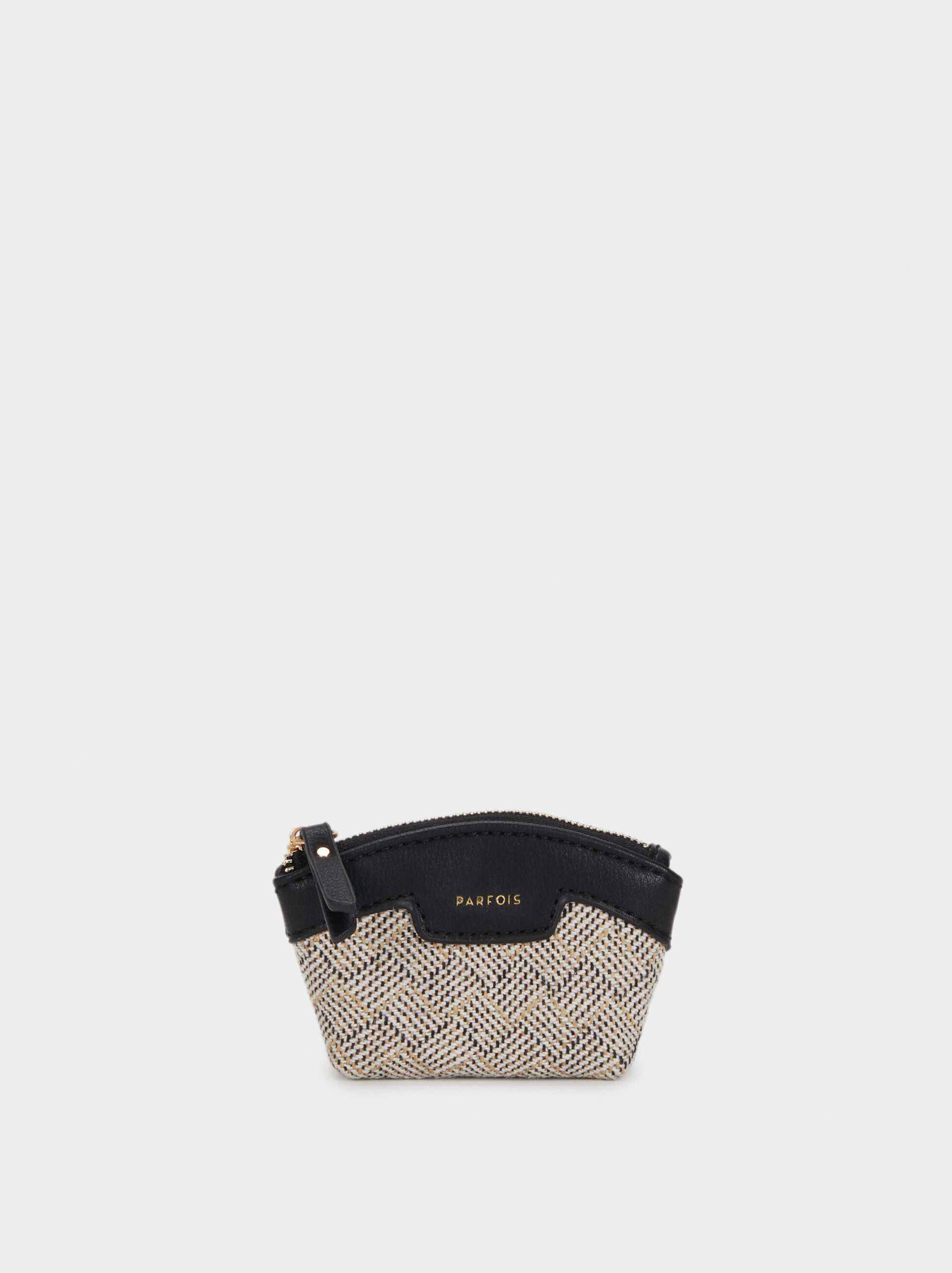 Elisa Coin Purse, Black, hi-res