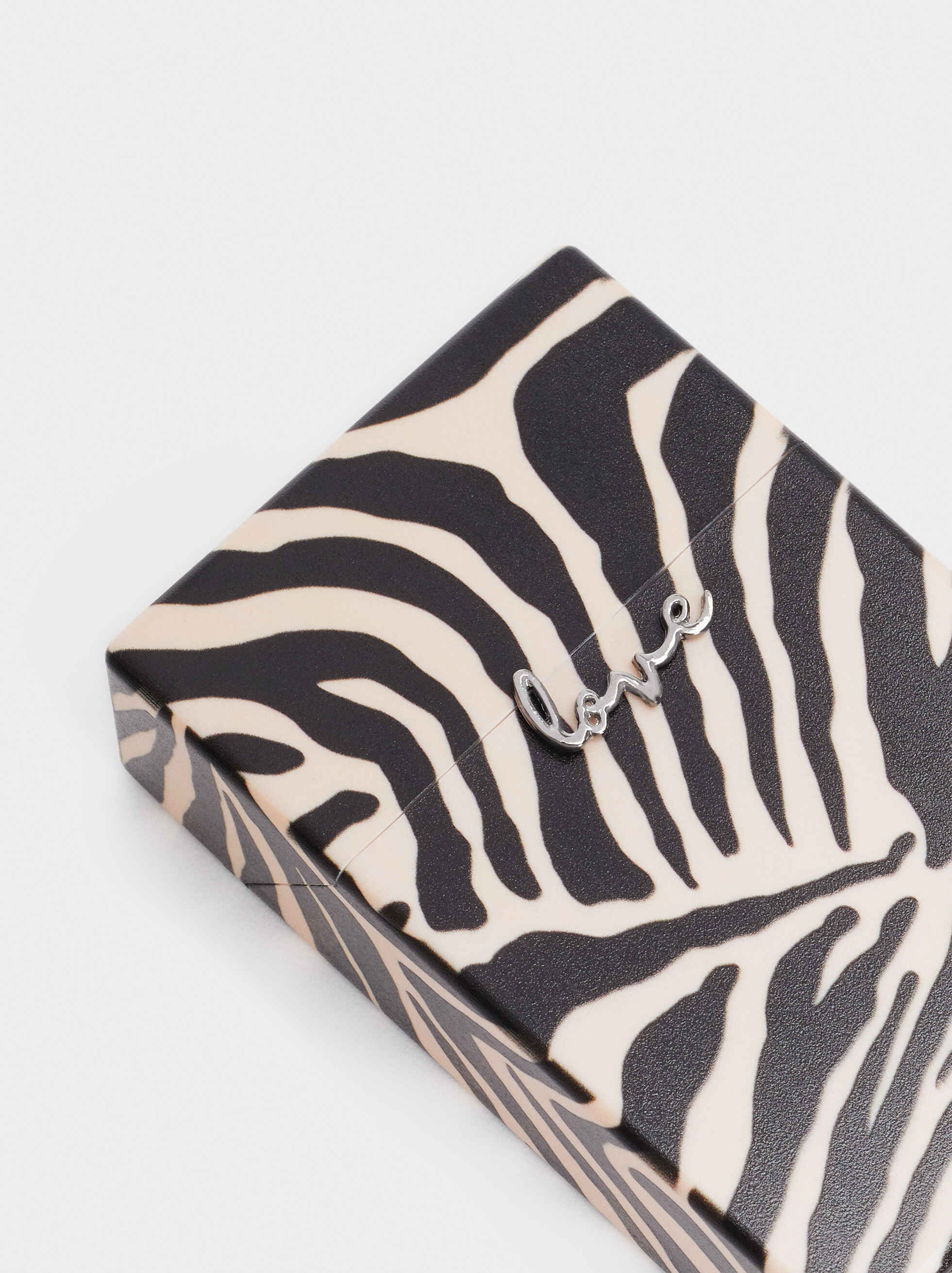 Pitillera Love Estampado Zebra, Multicor, hi-res