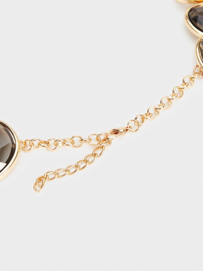 Exclusive Collection Short Necklace, Brown, hi-res
