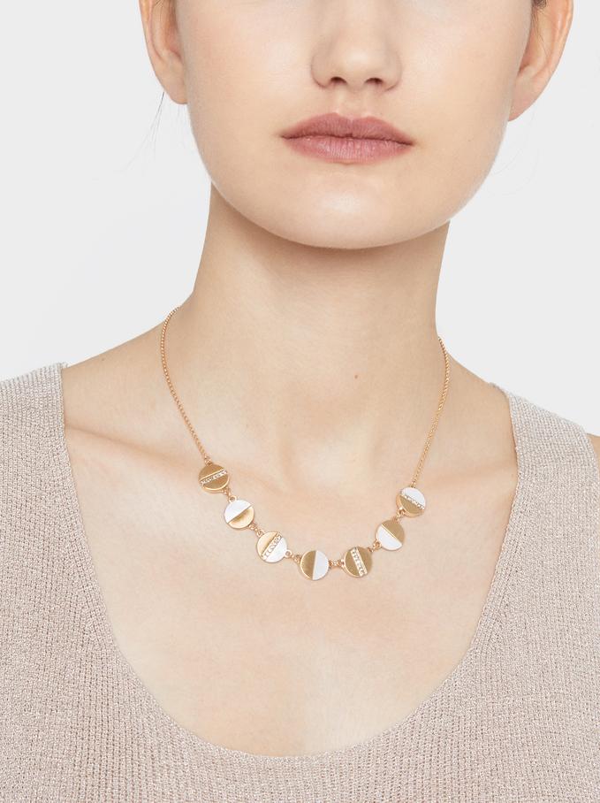 Golden Delicates Necklace, Golden, hi-res