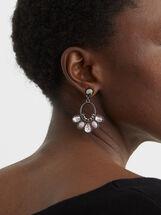 Cosmic Pink Medium Earrings, Multicolor, hi-res