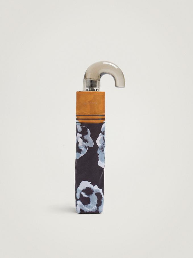 Small Folding Umbrella, Multicolor, hi-res