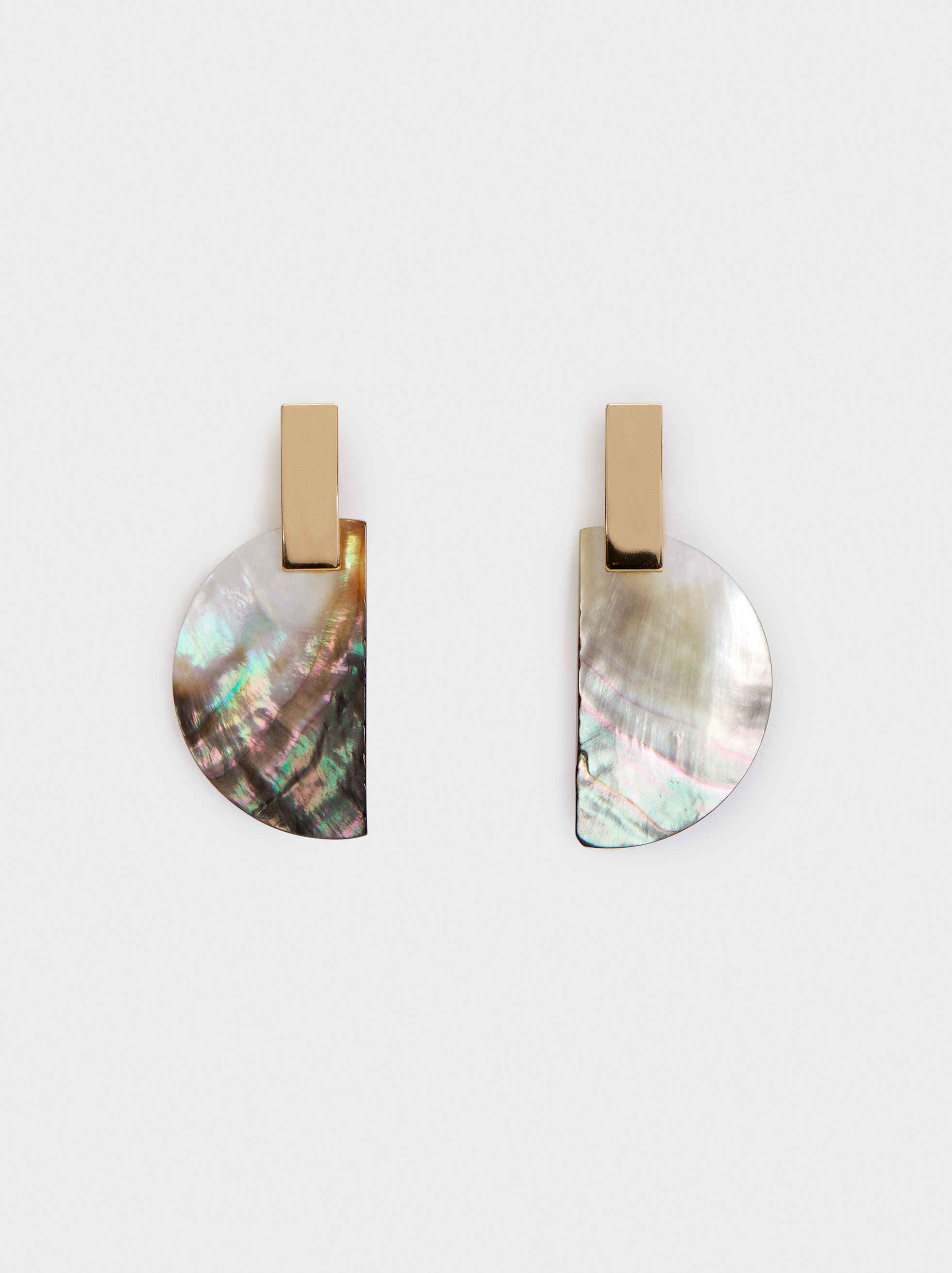 Blog Long Earrings, Multicolor, hi-res