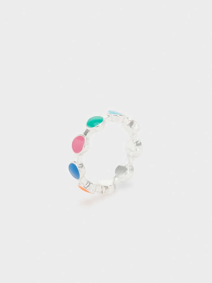 Aloha Seedbeads Ring, Multicolor, hi-res