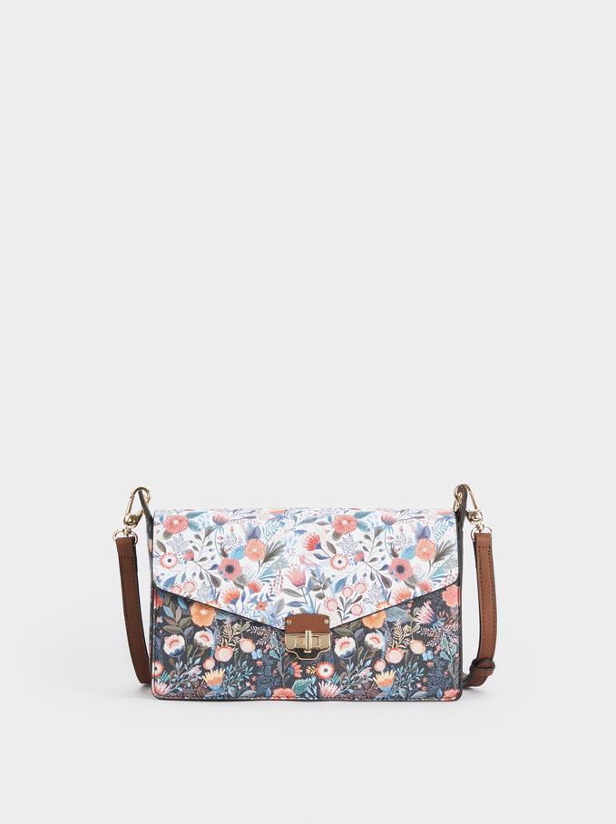 Lily Cross Bag, Navy, hi-res