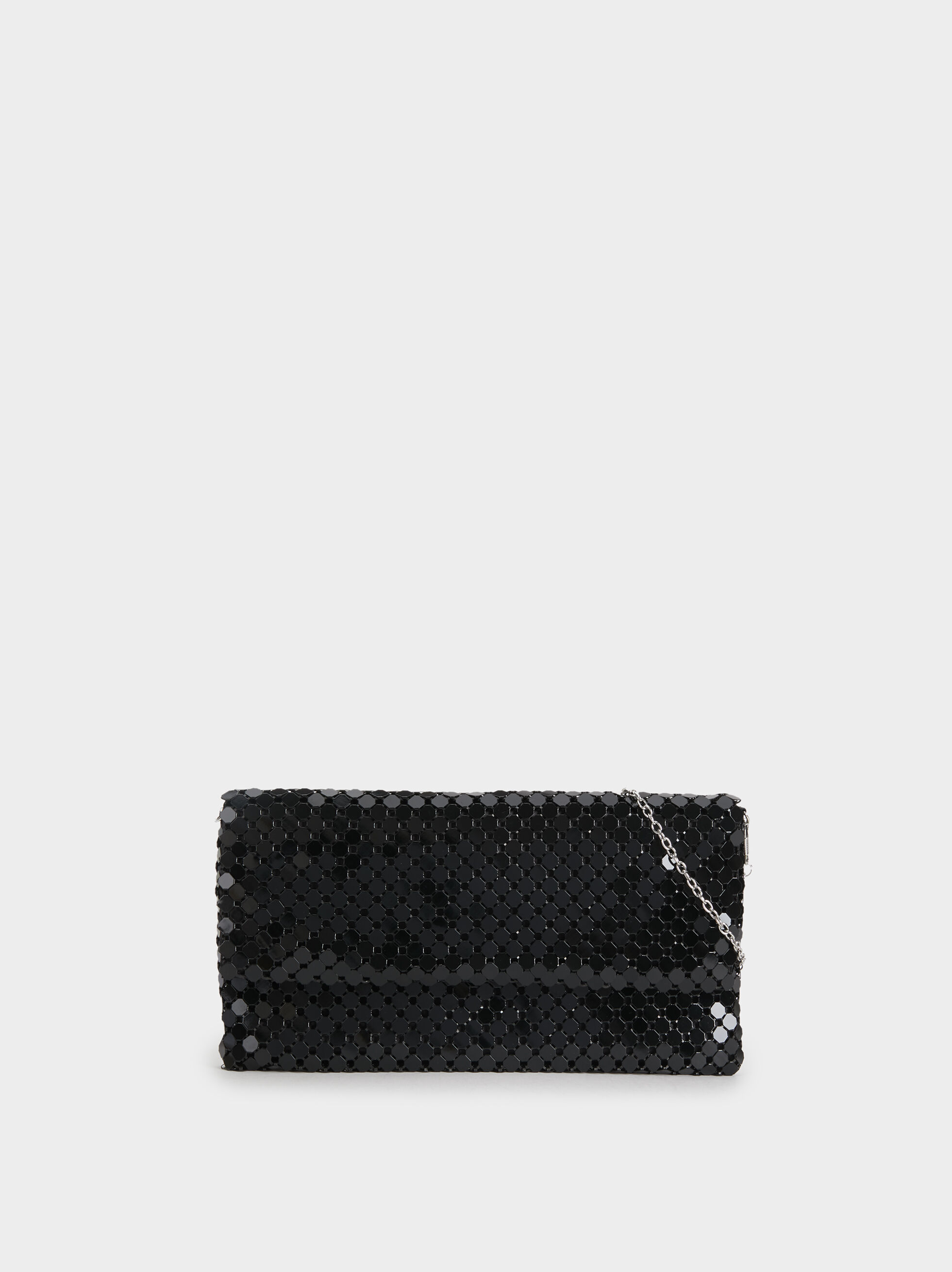 Big Mesh Party Clutch, , hi-res