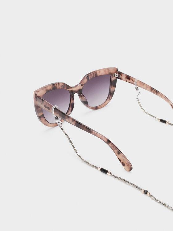 Beaded Glasses Chain, Multicolor, hi-res