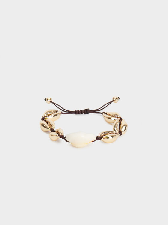 Adjustable Seashell Bracelet, , hi-res